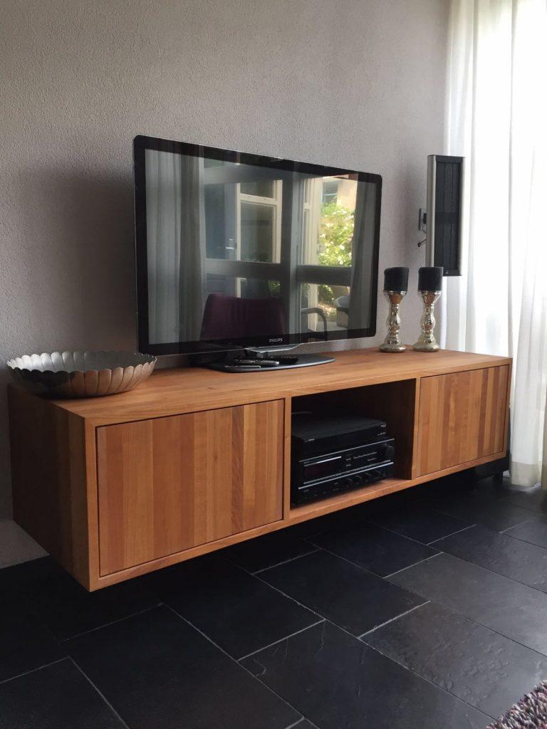 Tv Meubel Van Kersenhout Spant7