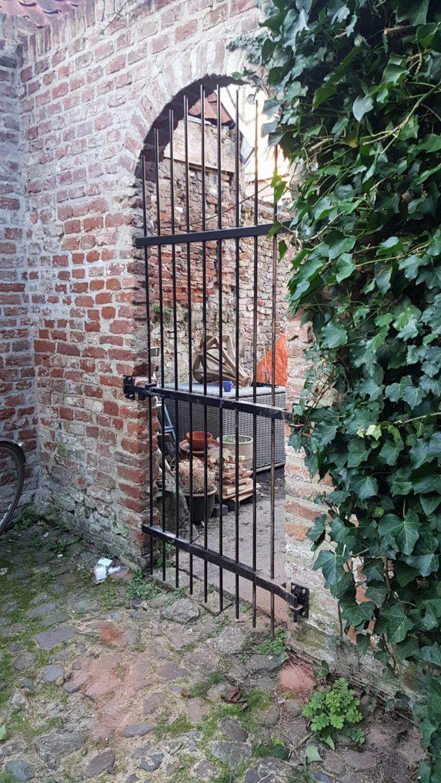 Stalen tuin deur - Spant7