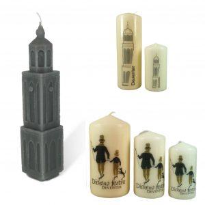 Deventer en Dickens kaarsen